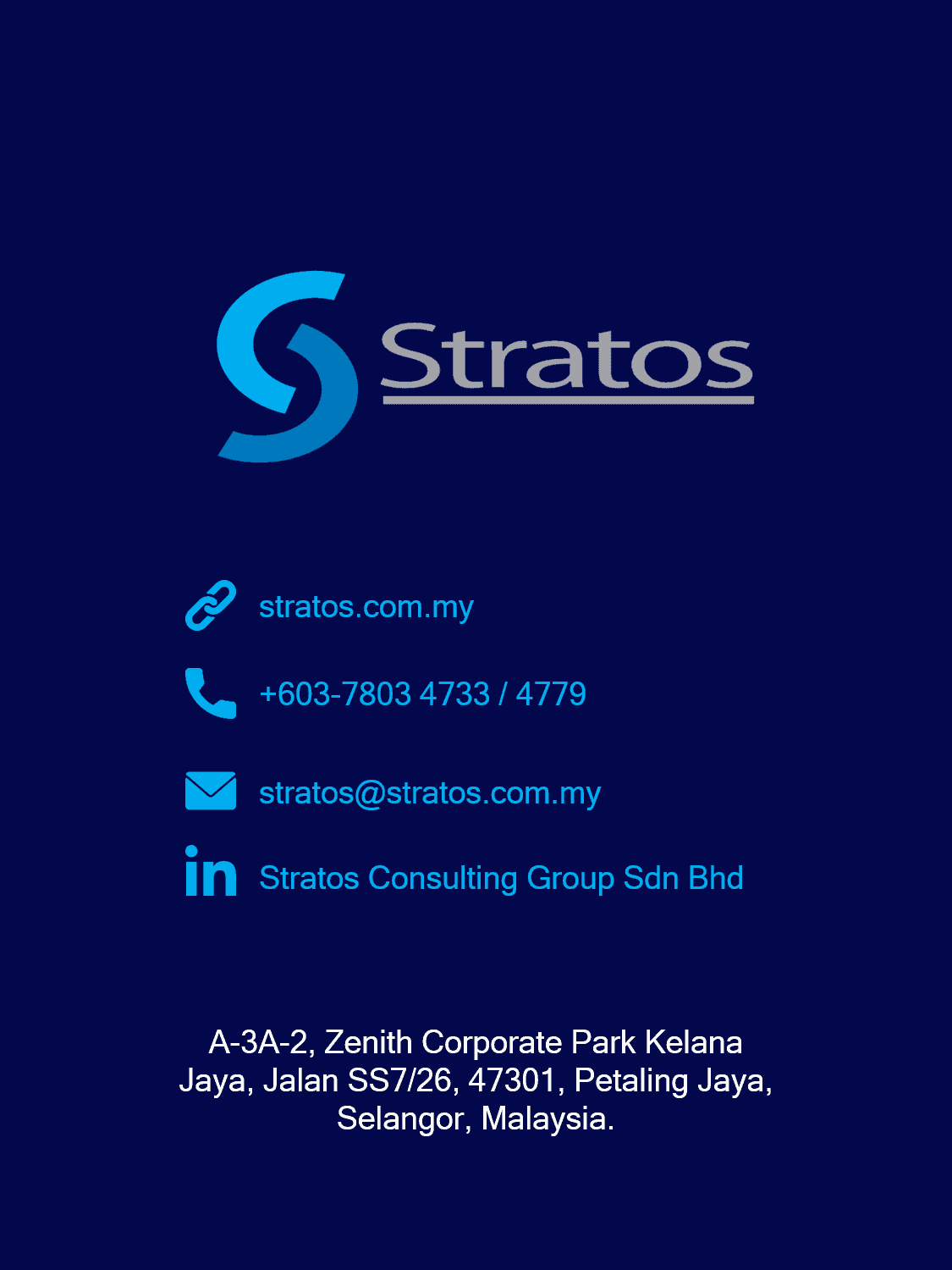 Stratos Consulting Group contact details